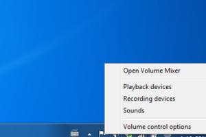 Geluid afspeelapparaten windows laptop
