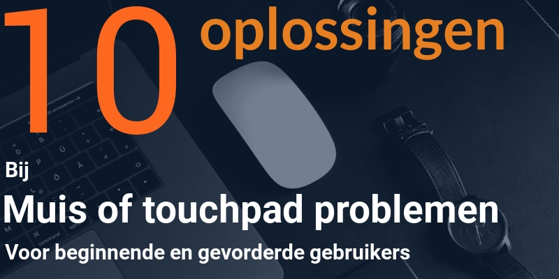 Muis of touchpad werkt niet